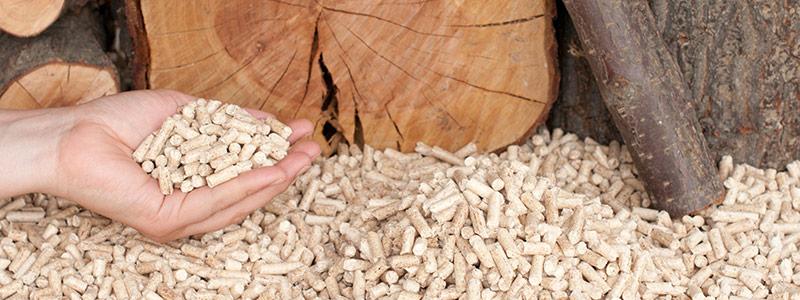 Pallet Of Wood Pellets Delivered