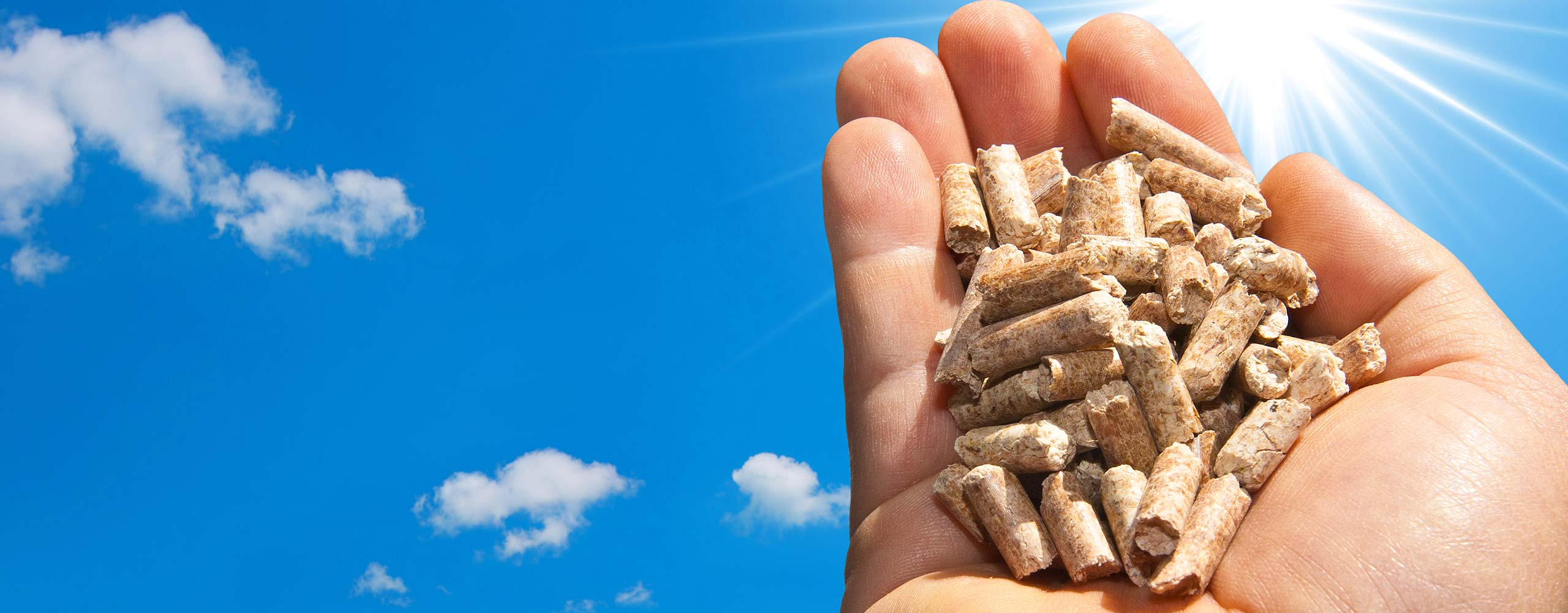 deliver wood pellets